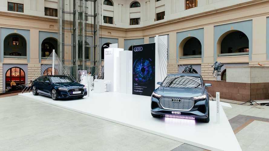 Audi поднимает культурный уровень в России