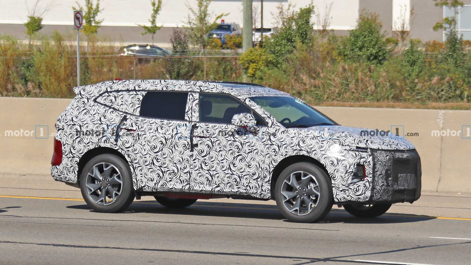 2018 - [Chevrolet] Blazer - Page 2 2021-chevrolet-blazer-xl-spy-photo