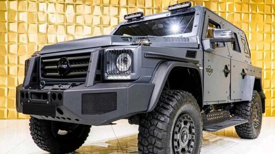 Gruma ENOK P1 - бронированный Mercedes-Benz G500