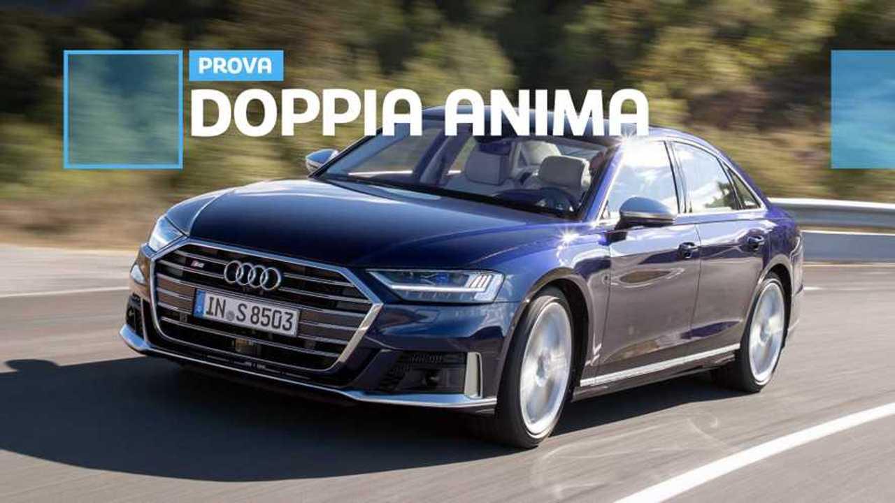 Copertina prova Audi S8