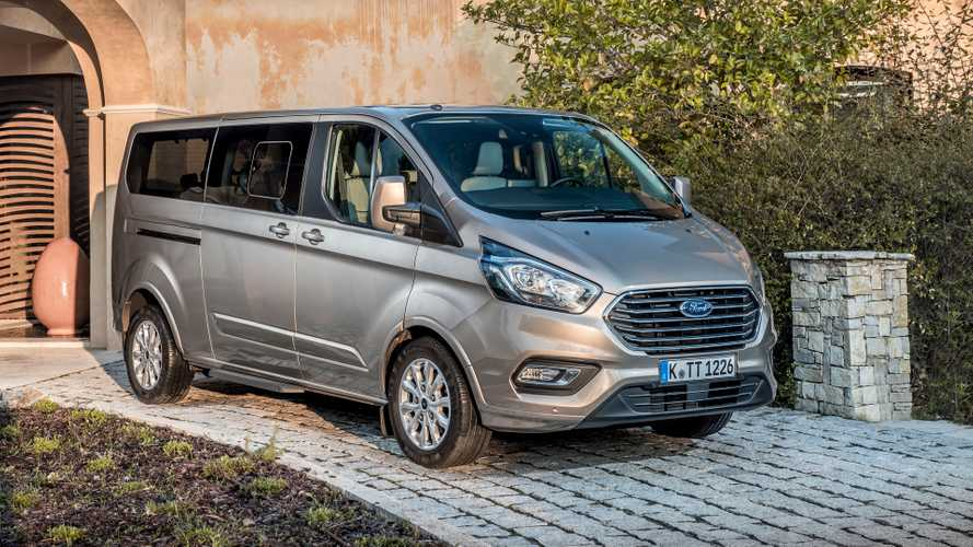 Ford Tourneo Custom EcoBlue Hybrid 2019