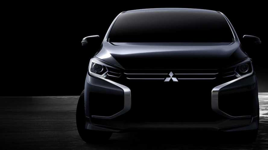 Rival do Kwid? Novo Mitsubishi Mirage ganhará visual inspirado na L200