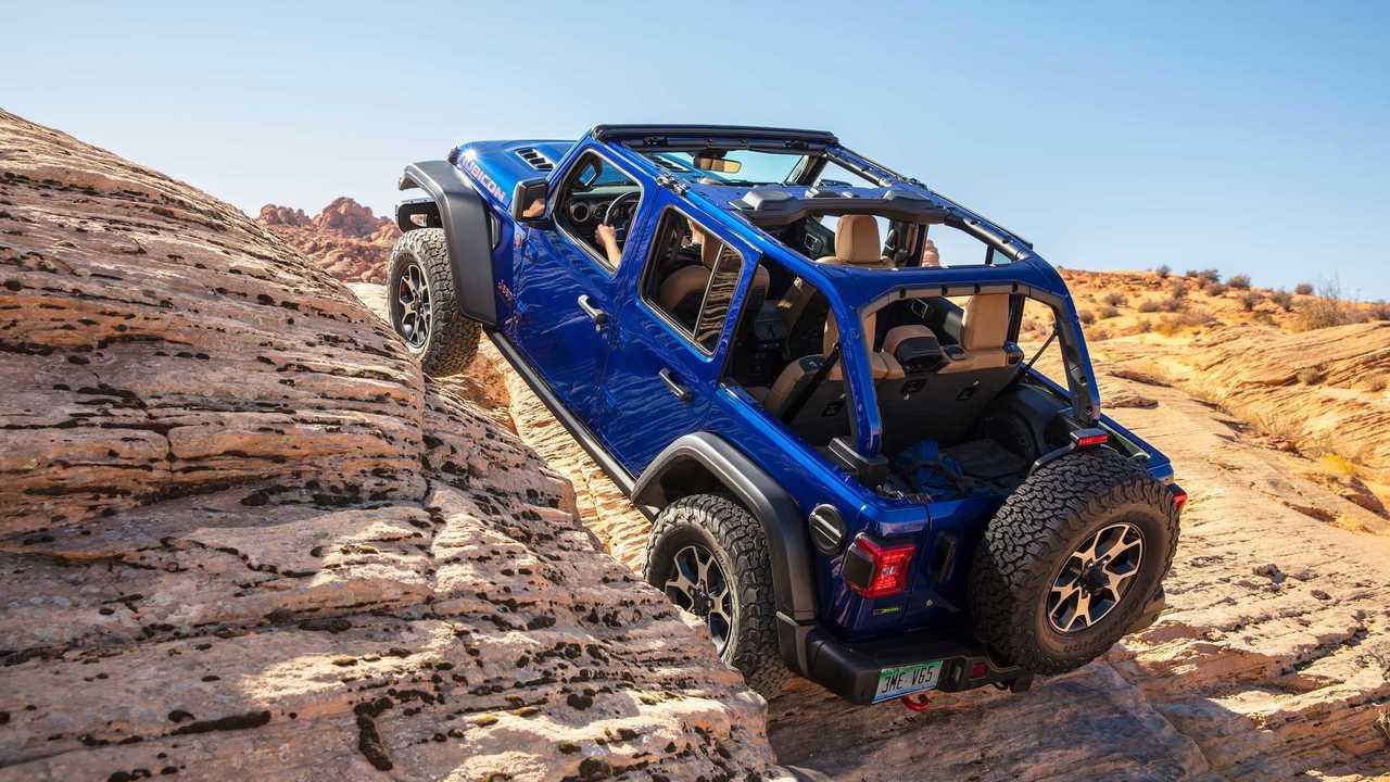 1. Jeep Wrangler Unlimited: 30 Percent