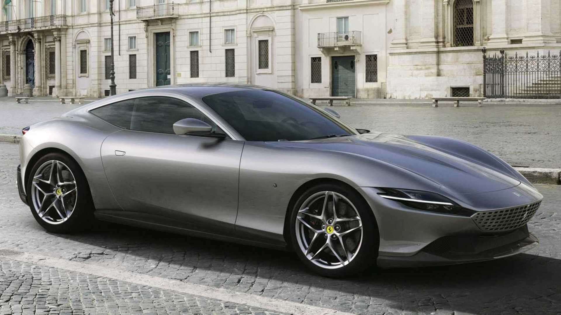Ferrari Roma Debuts As Retro,Inspired, 612,HP Dream