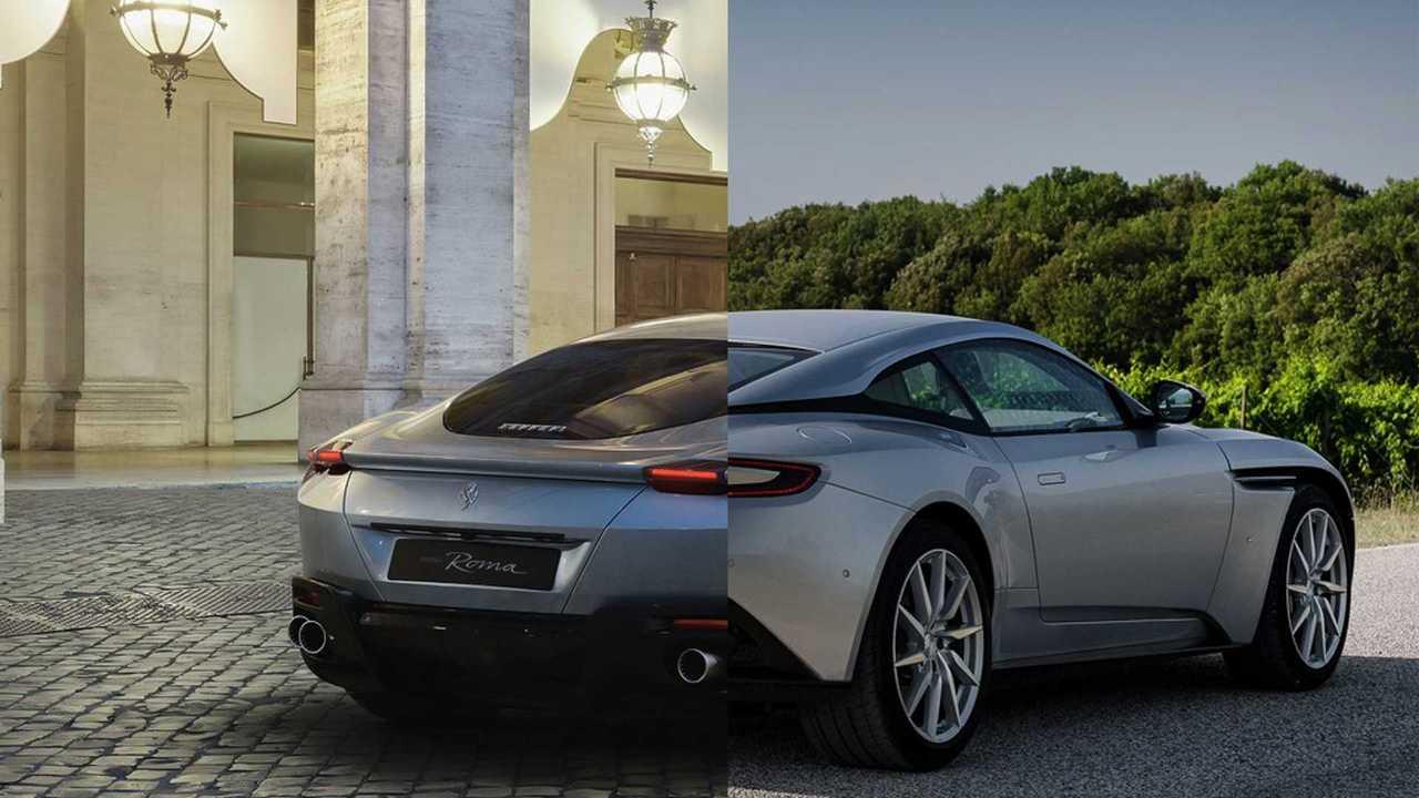Aston Martin x Ferrari
