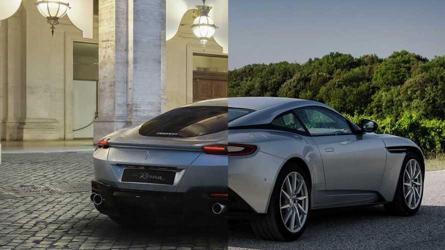 Ferrari Roma: So ähnlich sieht er dem Aston Martin DB11