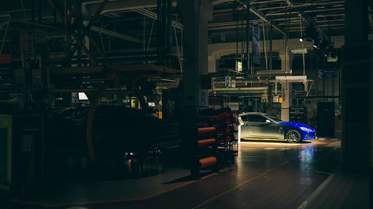 Maserati factory opens overnight