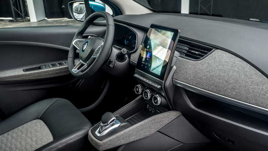Renault Develops Recycled Interior For New ZOE Electric Hatchback