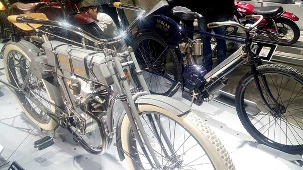Petersen Automotive Museum Harley vs Indian Exhibit Grand Opening