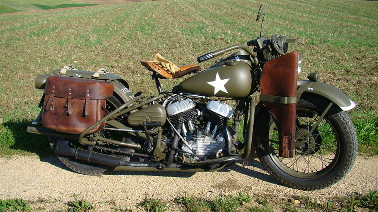 You're In the Army Now - Motorcycles at War