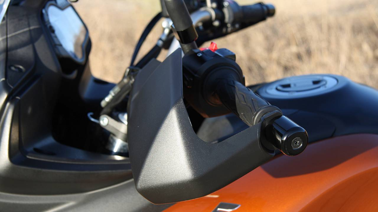 Humble handguards keep the wind off your hands and protect your levers from impacts.