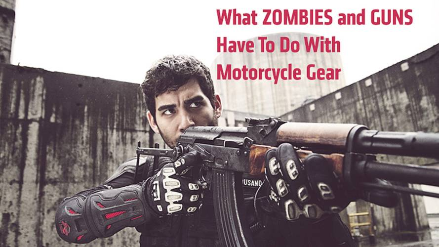 Icon Containment Conflicts Video — Zombies, Guns and Motorcycle Gear