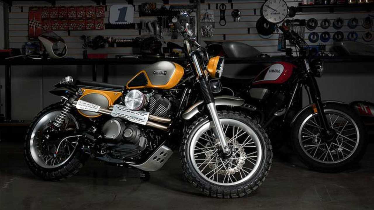 Yamaha Shows Off Palhegyi SCR950 Custom