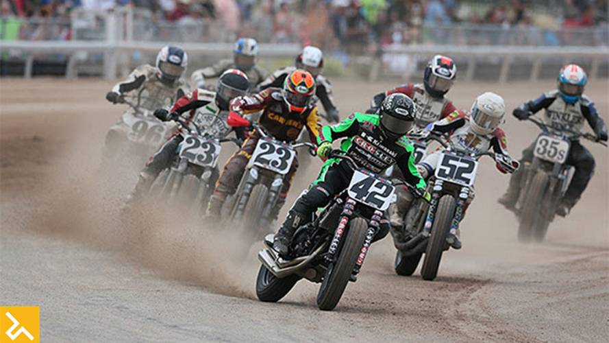 American Flat Track on NBC TV