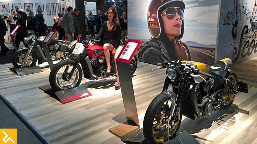 Indian Motorcycle Shows Full Line in Milan