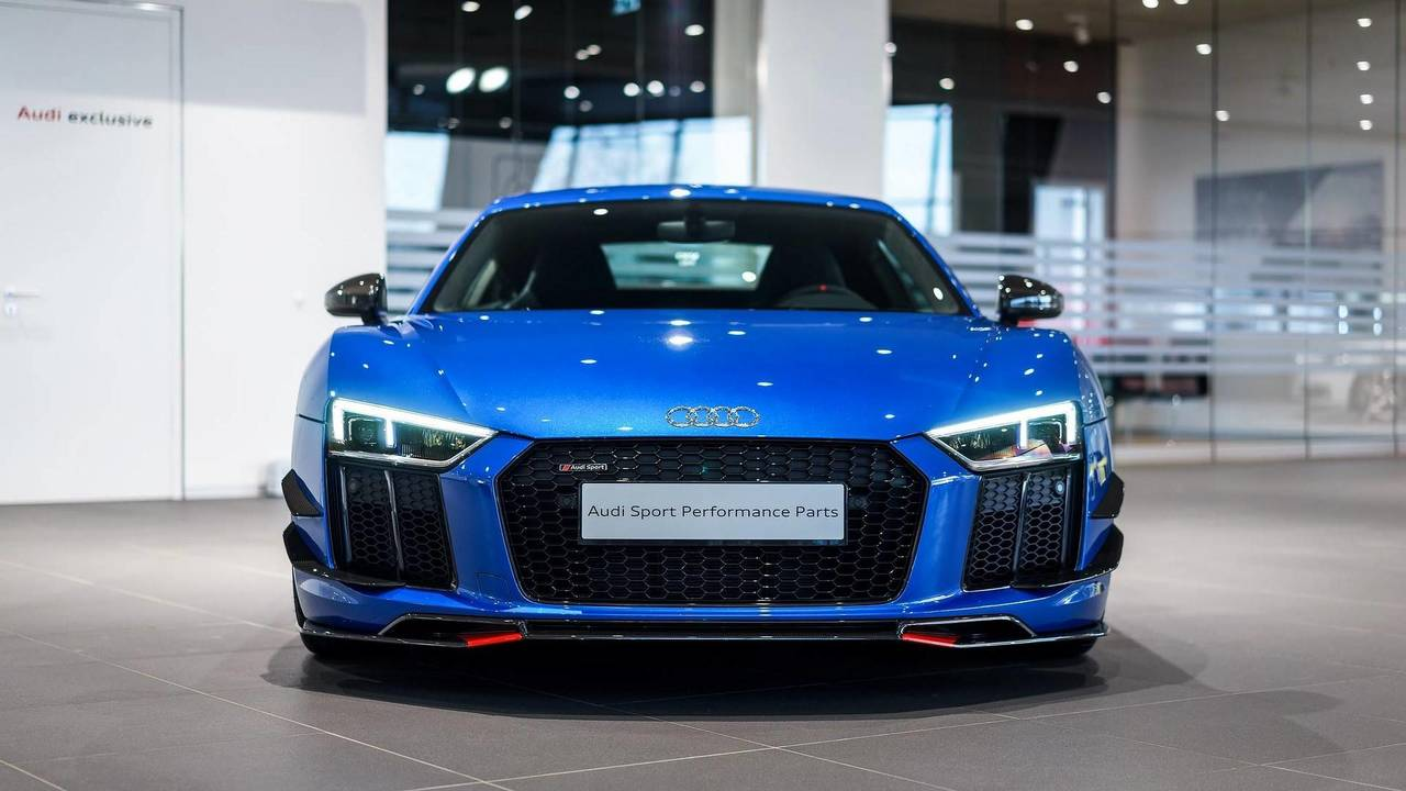 Audi R8 V10 Plus With Performance Parts Motor1 Com Photos