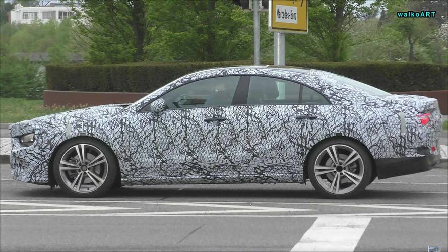 Next-Gen Mercedes-Benz CLA-Class Spied In Traffic