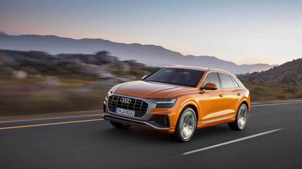 Primera prueba Audi Q8 2018