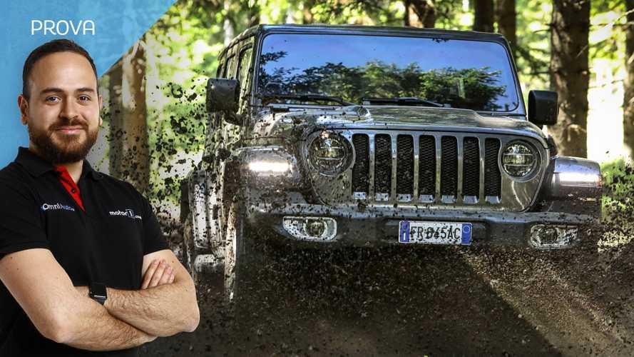 Nuova Jeep Wrangler, al volante del mito