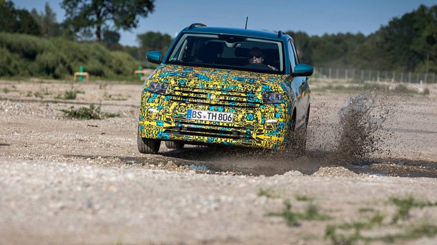 Photos camouflées - Volkswagen T-Cross (2018)
