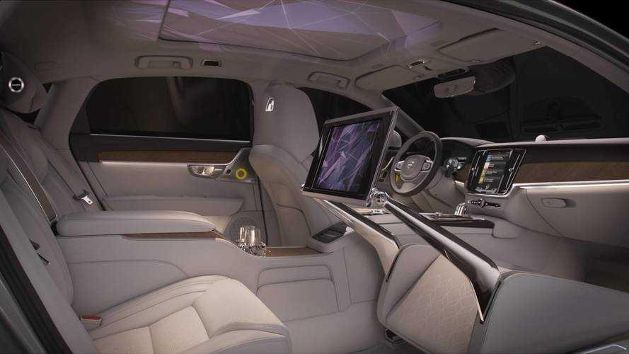 Volvo S90 Ambience Concept, il piacere dei sensi