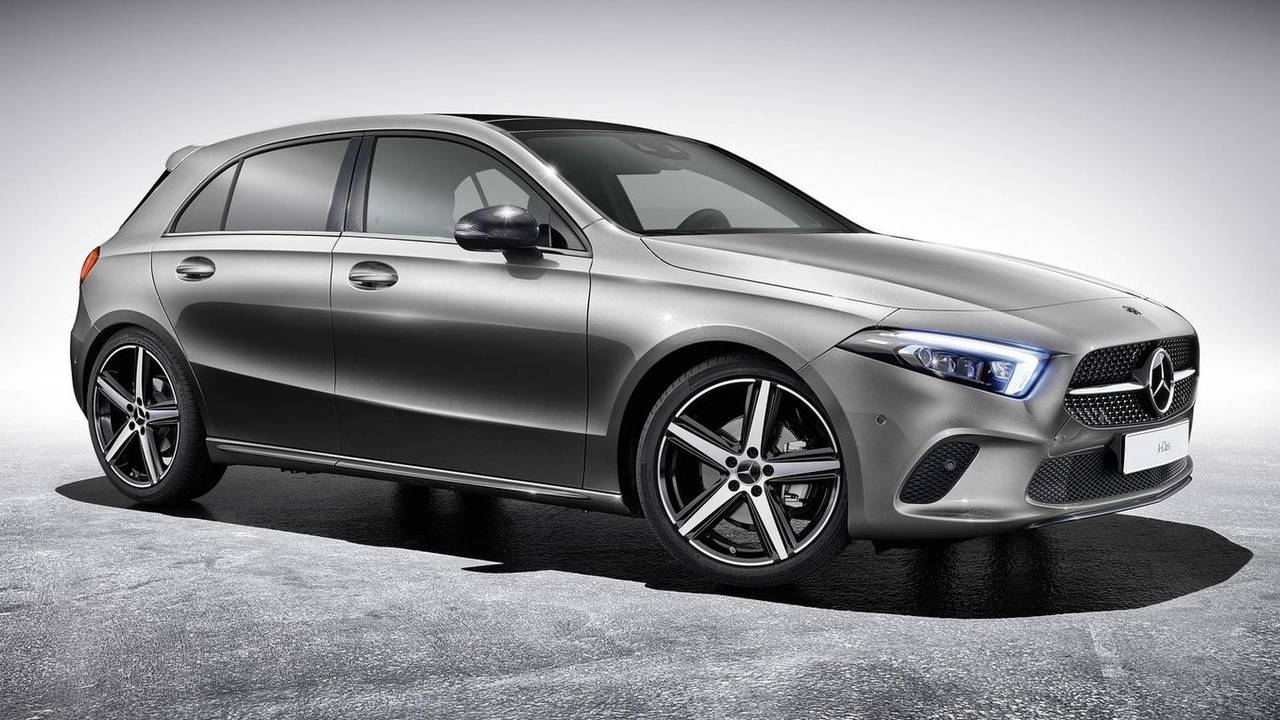 2018 Mercedes A-Class with new upgrades