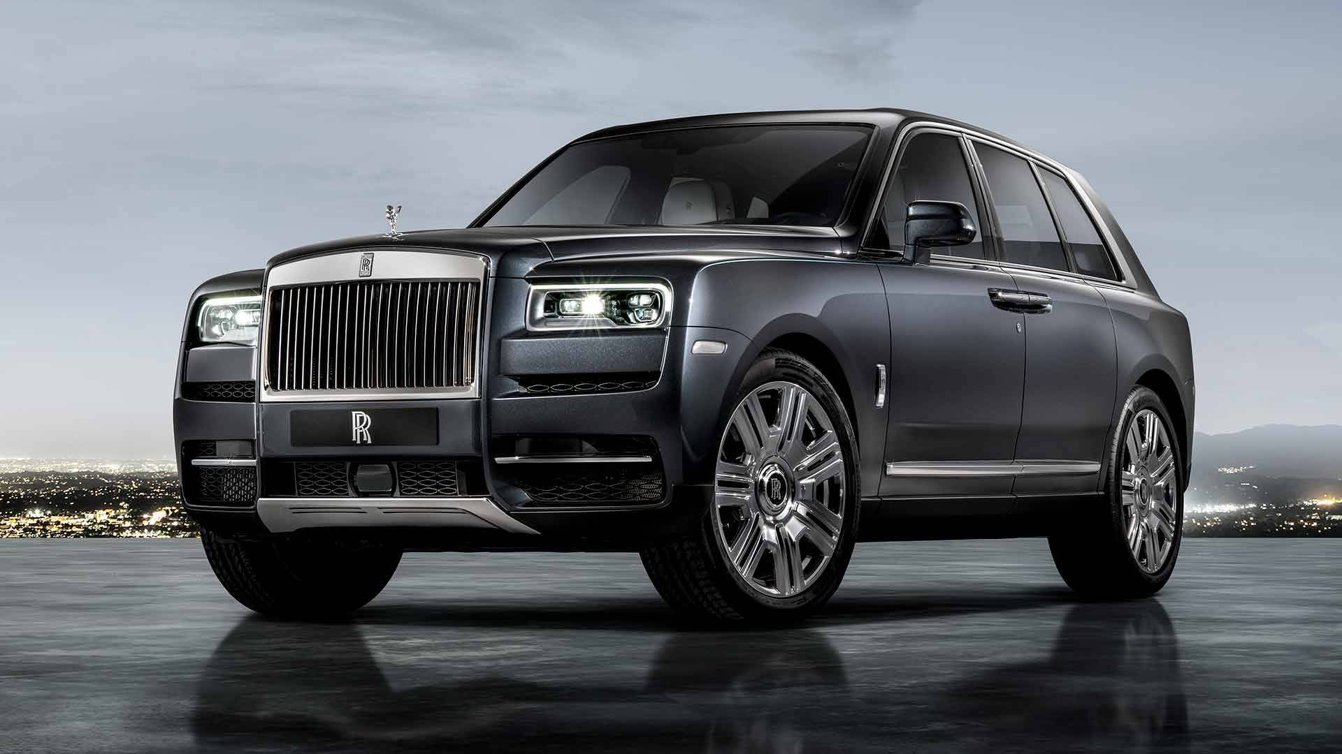 Rolls Royce Debuts Cullinan Suv With 325k Starting Price