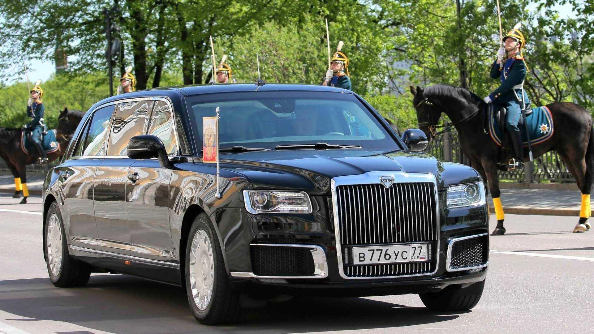 Limousine Vladimir Putin in 2018 48