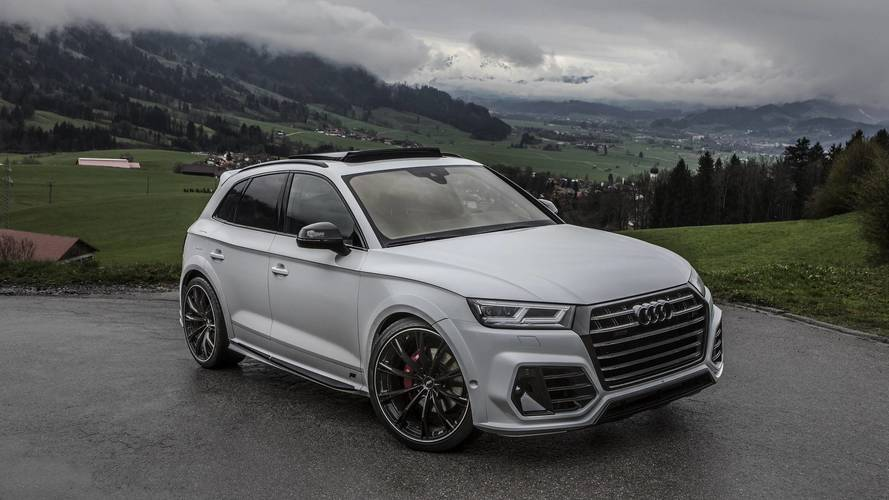 Audi SQ5 Glacier White Metallic by ABT
