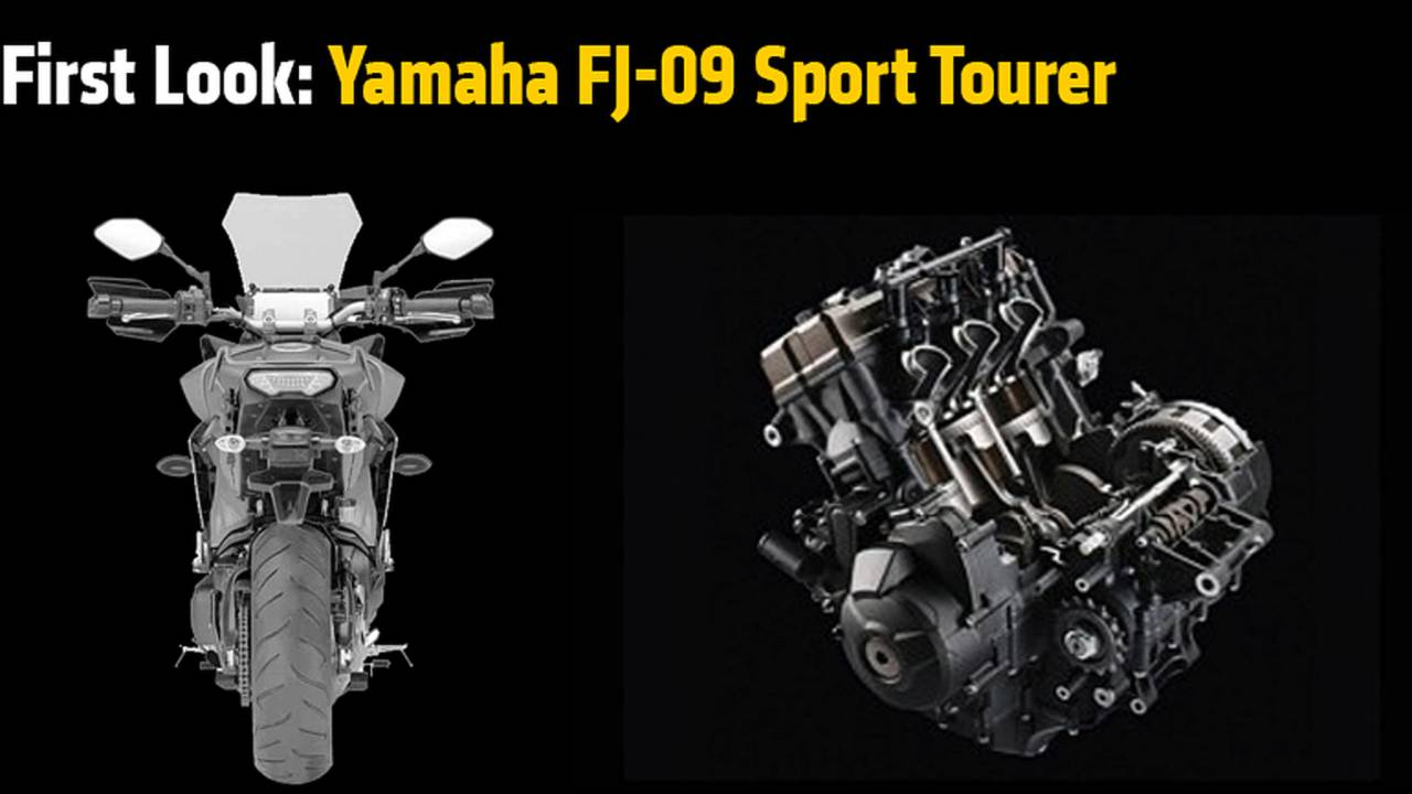 First Look: Yamaha FJ-09 Sport Tourer