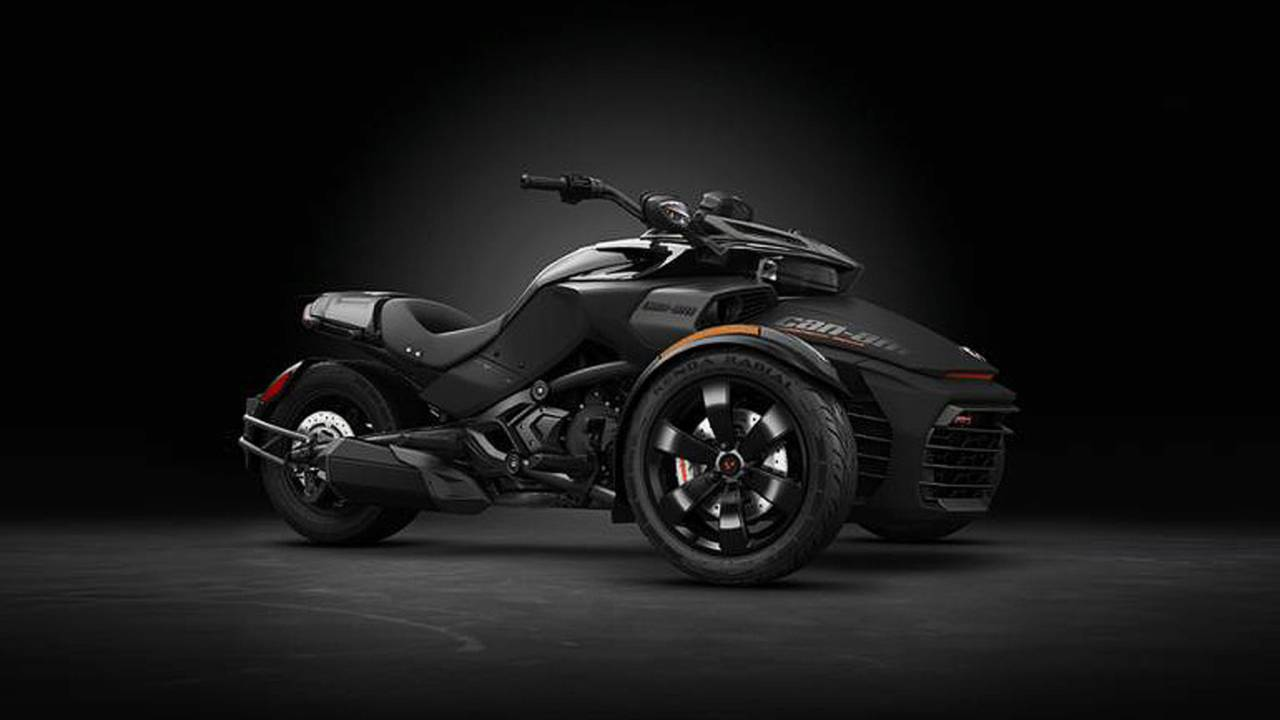 Can-Am Spyder F3-S Special Series in Triple Black to be Unveiled at Sturgis