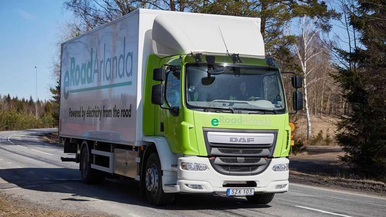 eroad Sweden truck