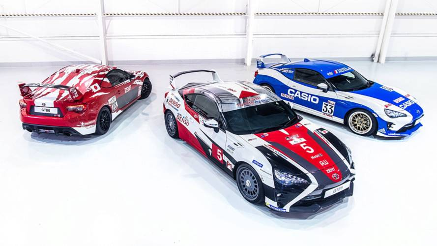 Toyota pays homage to Le Mans greats with special GT86 liveries