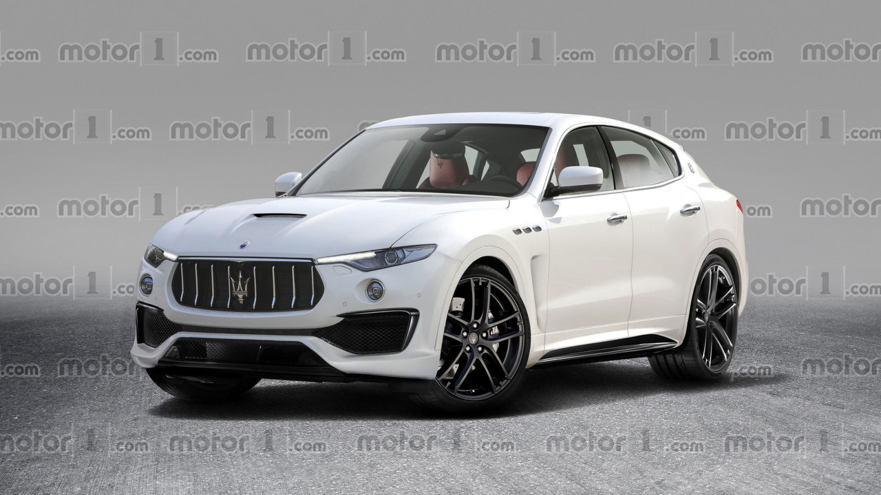 Refreshed Maserati Levante