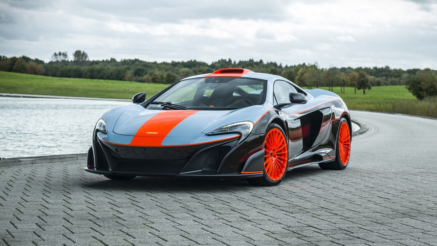 McLaren 675LT Gets The Gulf Treatment, Honors F1 GTR Longtail