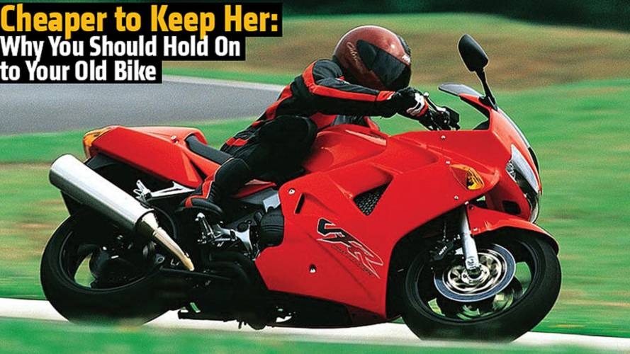 Cheaper to Keep Her: Why You Should Hold On to Your Old Bike
