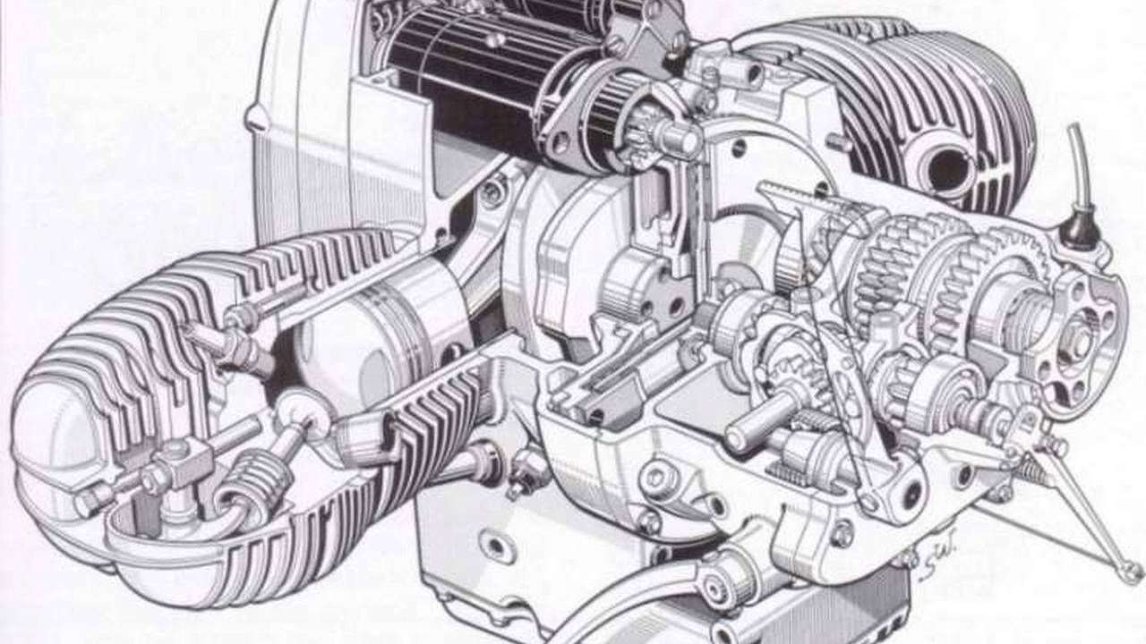 Most manuals have a great engine cutaway drawing, or you may find one online that will look great on the wall