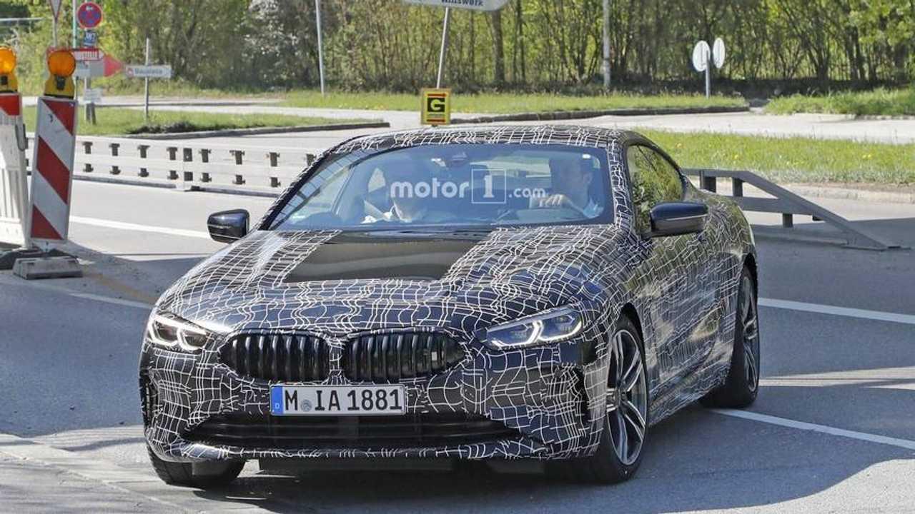 2018 BMW 8 Serisi Coupe Casus Fotoğraflar