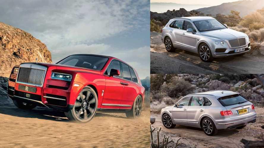 Rolls-Royce Cullinan 2018 vs. Bentley Bentayga: ¿cuál es mejor?