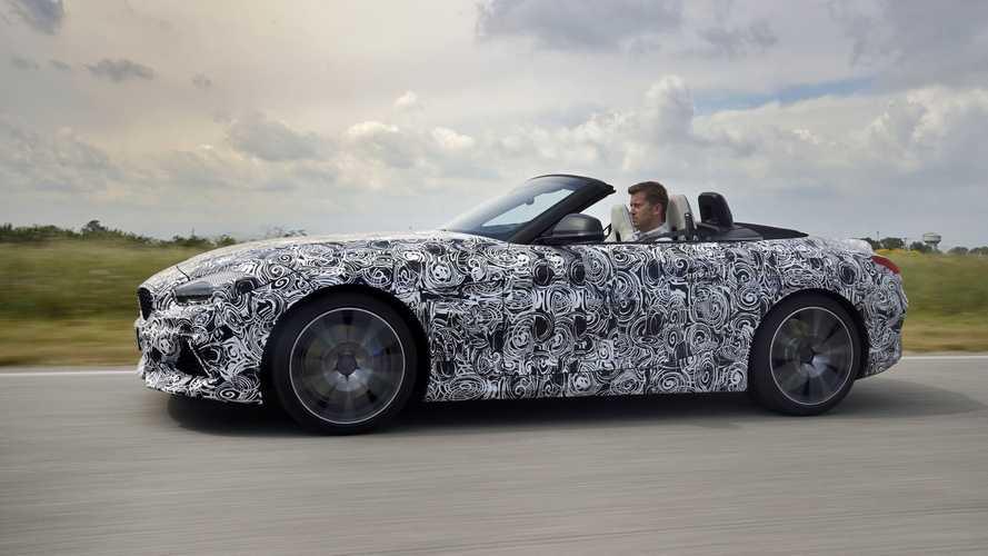 BMW Z4, i test in pista prima del debutto di agosto