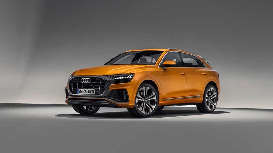 Audi'nin yeni Coupe-SUV modeli Q8, resmi olarak duyuruldu