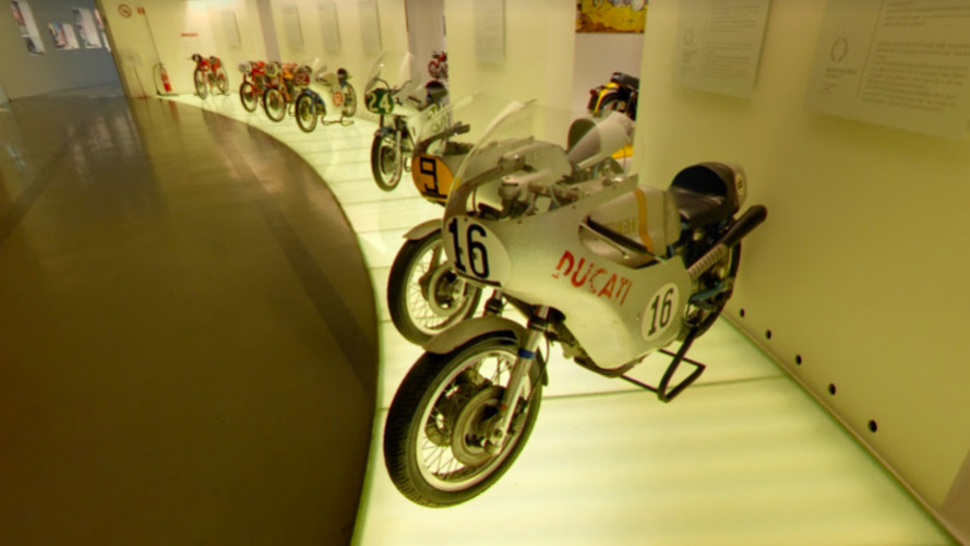Ducati Museum Features The Desmo Twins of Young Hailwood