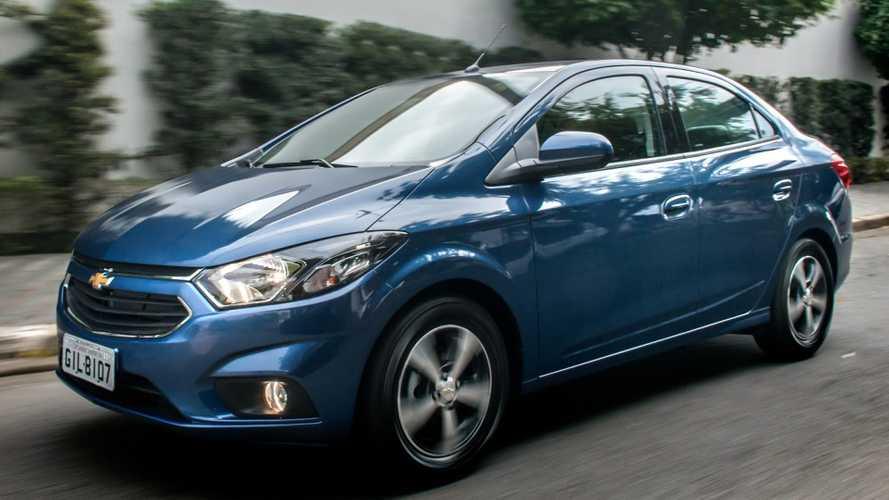 Sedãs compactos em 2018: Chevrolet Prisma absoluto e VW Virtus em destaque