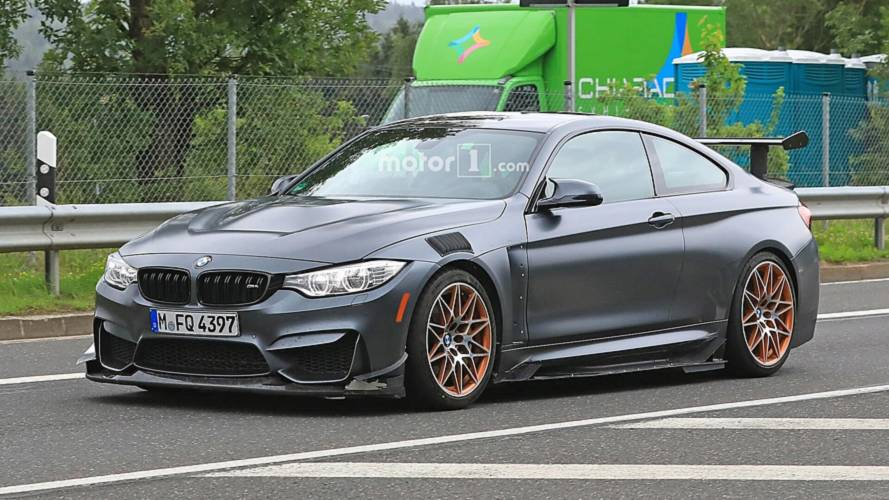 BMW M4 GTS spied testing with extreme aero kit