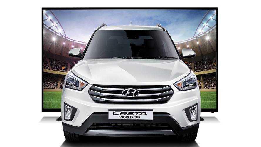 Hyundai Creta ganha versão Copa do Mundo... na Argentina