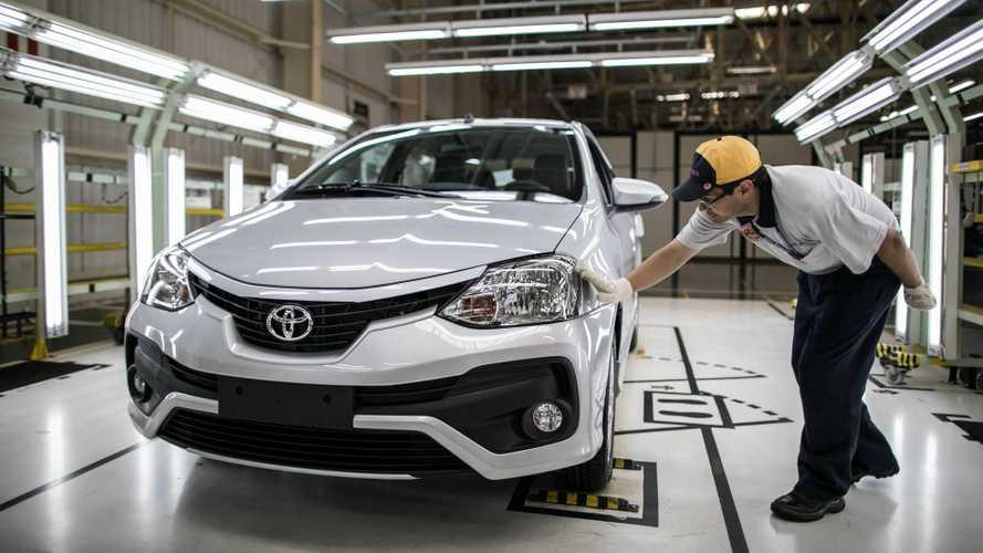 Toyota suspende produção em todas as suas fábricas brasileiras