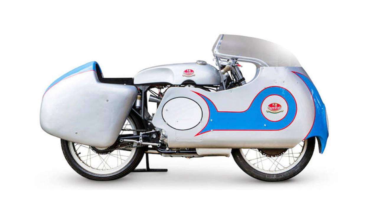 Auction Alert: World Title and TT Winning 1957 Mondial 250
