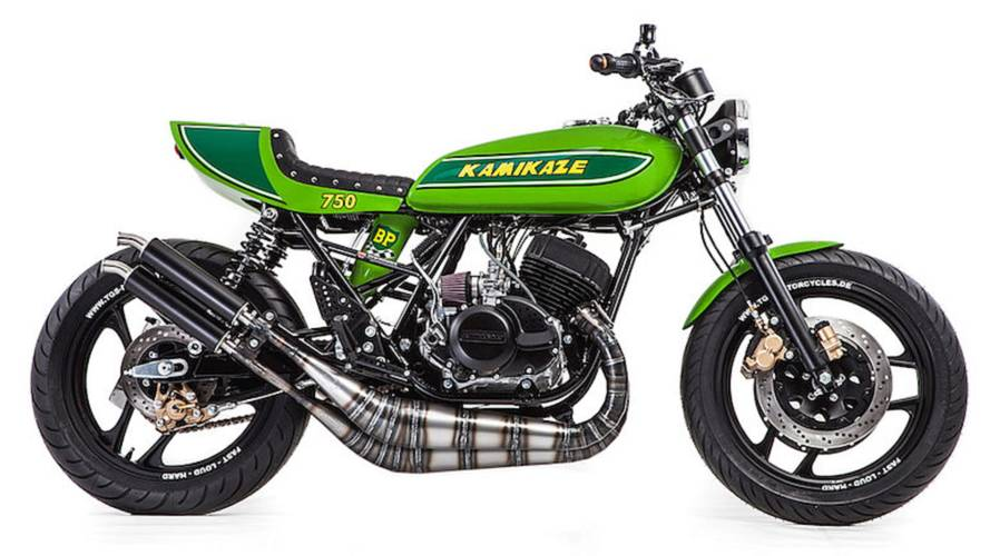 "Bike of the Week: TGS Motorcycles' ""Kamikaze"" H2"