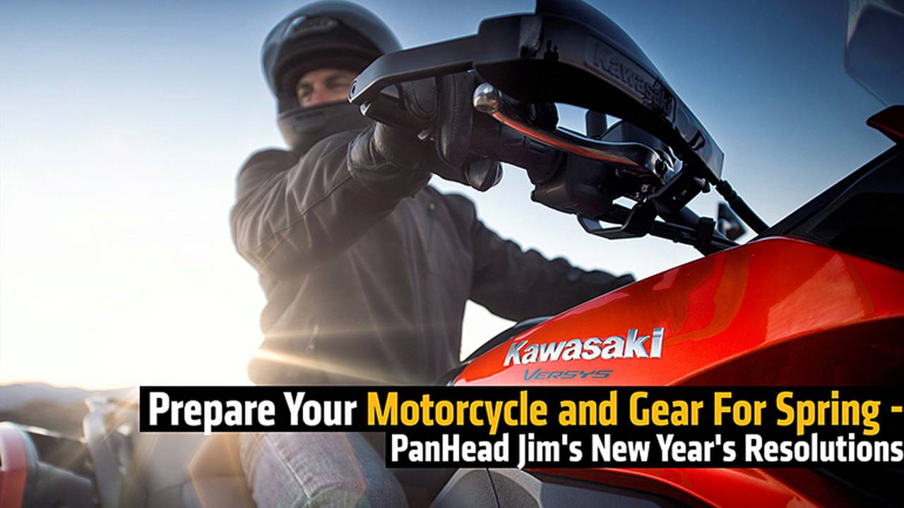 Prepare Your Motorcycle and Gear For Spring - PanHead Jim's New Year's Resolutions