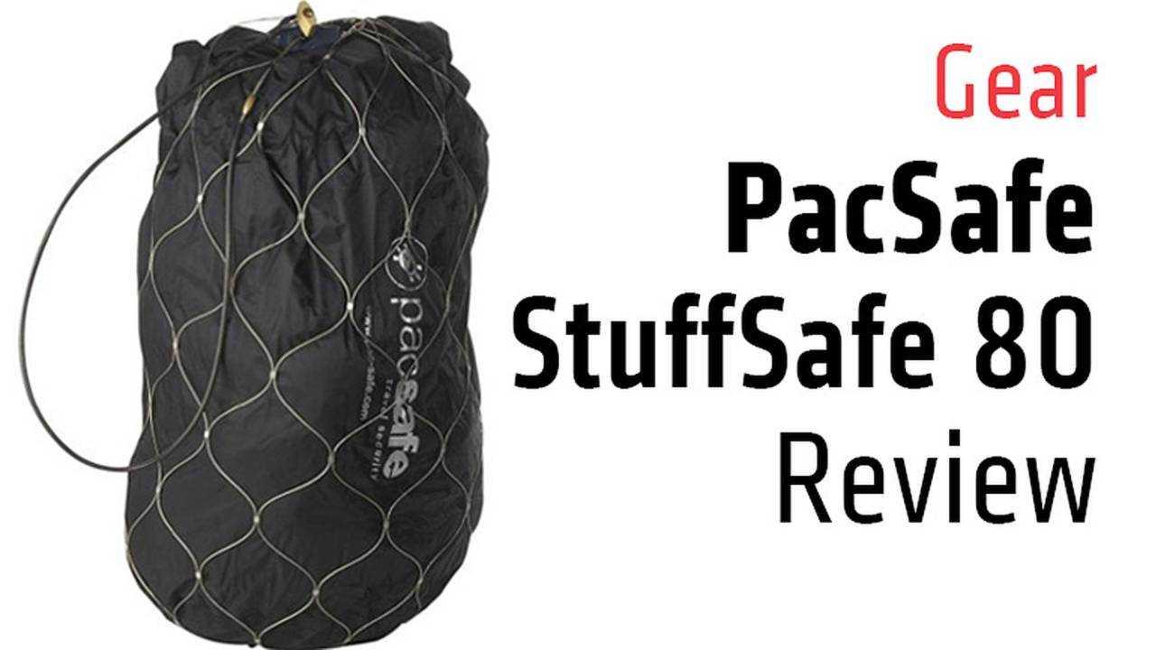 Gear: PacSafe StuffSafe 80 Review